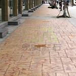 供应水泥印花地坪 彩色混凝土印花 上海公司直销