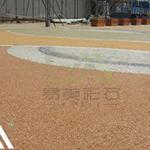 全国彩色透水混凝土路面 原料供应 包工包料