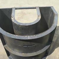 马鞍式配重块模具_燃气管道配重块模具_规格尺寸按图定做