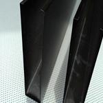 黑色吊顶铝方通_黑色字母U型铝方通供应