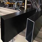 造型吊顶U型铝方通 铝方通吊顶规格长度按要求生产