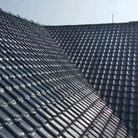 ASA合成树脂瓦 PVC仿古瓦 平改坡工程用瓦