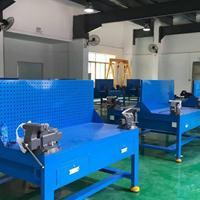 模具拆装钳桌|模具装配铁桌|带防护网钳工桌生产厂家|可定制