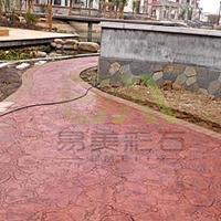 彩色压模地坪材料批发 地坪原料供应