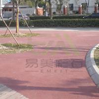 上海彩色透水地坪 高强度透水地平 施工原料