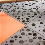 铝板工艺文化中心商场 现代简约艺术冲孔板款式任选