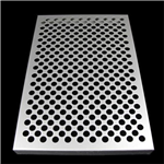 造型冲孔铝单板_穿孔造型铝板定制厂家