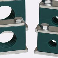 带盖板船用管卡电线管夹塑料管卡液压管夹TLPG3-6-42MM轻型重型