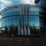 新型建材铝板装饰商业中心-铝单板厂家直销