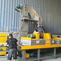 钢材处理喷砂机通过式抛丸机广东喷砂机设备制造商打沙加工厂家