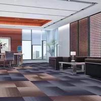 芬豪 供应台球厅电影院满铺工程圈绒提花地毯混纺卧室办公室地毯