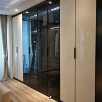 新款亚克力板铣型F款拉手 亚黑 1.3-2.6米 衣柜橱柜整体家居通用