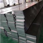 加油站罩棚吊顶材料铝扣板-白色高边铝扣板定制厂家