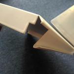 条形白色铝扣板吊顶厂家价格