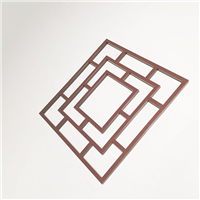 南昌中式古典铝窗花定制直供