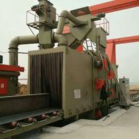 全自动不锈钢板材输送式抛丸机通过式抛丸机