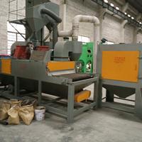 钢板铁板除锈除油漆设备 板材处理抛丸机 通过式抛丸机