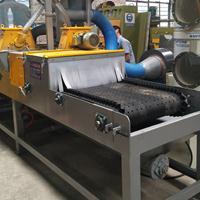 货架床架氧化皮喷砂机平面输送通过式抛丸机除锈专用打砂机厂家