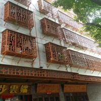 南昌市酒店铝方管窗花   雕刻铝单板窗花   造型铝窗花