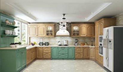 4米欧派厨房橱柜价格要多少  欧派橱柜靠谱吧