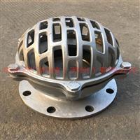 不锈钢法兰底阀H42W型井底阀吸水阀滤水阀