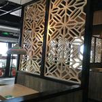 定制生产石纹铝合金花格窗/石纹铝合金窗花装饰室外外墙