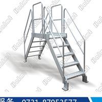 湖南华铝机械供应铝合金跨线桥 流水线跨线桥 工作梯