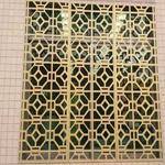 【学校护栏铝窗花/花格】定制加工|仿古式铝护栏窗花/低价批发