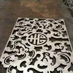 广州铝板雕刻铝窗花来图设计/质量好又优惠