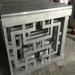 珠海市学校通道改造铝窗花设计定做/低价批发