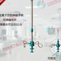病房输液吊杆打针轨道点滴架不锈钢输液拉杆