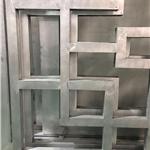 洞口推拉窗铝窗花款式 厂家定制铝花格