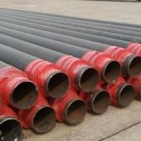 热力供暖聚氨酯发泡保温钢管dn150预制直埋无缝保温钢管