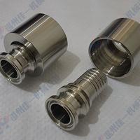 温州生产不锈钢扣压式快装软管接头