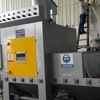 五金铁件处理喷砂机自动喷砂机铝合金钢材处理打沙机生产厂家
