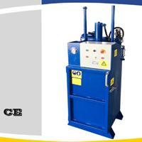 供应200L大型机油桶压扁机,全自动一键操作