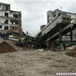 孝义建筑垃圾回收项目 时产200t装修垃圾处理设备