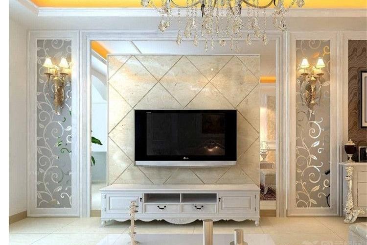 最便宜又大方的电视墙 图片合集