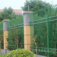 锌钢护栏防爬栏杆工厂小区围栏