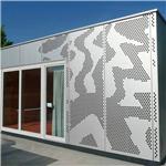 图书馆油漆雕刻铝单板厂家