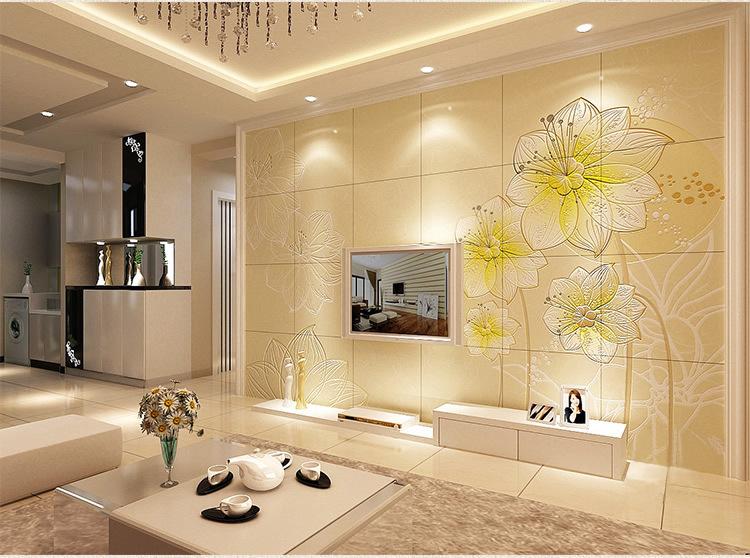 艺术漆电视背墙效果图 艺术漆电视背墙新风格