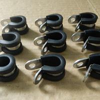加强型不锈钢管夹  SKM波纹管紧固夹 304不锈钢