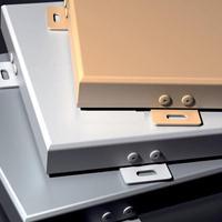 优质铝合金板材为基材-氟碳铝单板-冲孔铝单板-铝单板幕墙