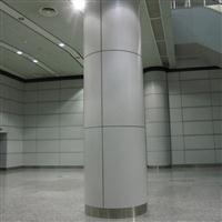 酒家包柱氟碳铝单板-各种状态的铝板深加工【德普龙建材】