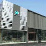 广汽传祺新能源幕墙装饰铝单板_幕墙装饰铝合金格栅