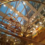 高级西餐厅装饰焊接仿木纹方通定制厂家
