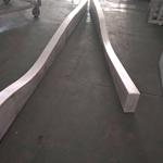 供应木纹弧形焊接铝格栅-波浪形铝板格栅