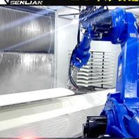 家具喷涂机/机器人喷涂生产线/自动喷漆机械手 森联高端定制