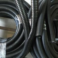 福莱通电线电缆保护波纹管 阻燃剖开型穿线软管Φ20