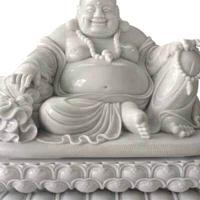 石雕弥勒佛寺庙供奉摆放 笑佛 布袋和尚雕塑 惠安厂家直销批发